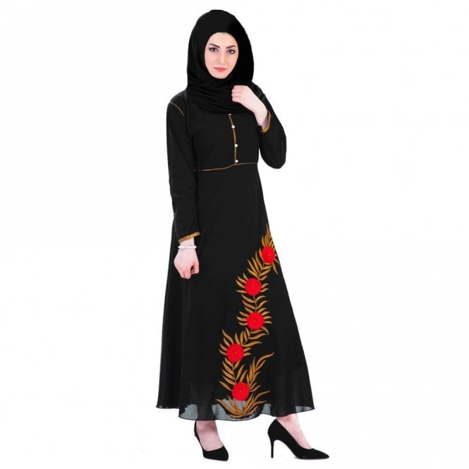 Umbrella Cut Abaya ML 31522