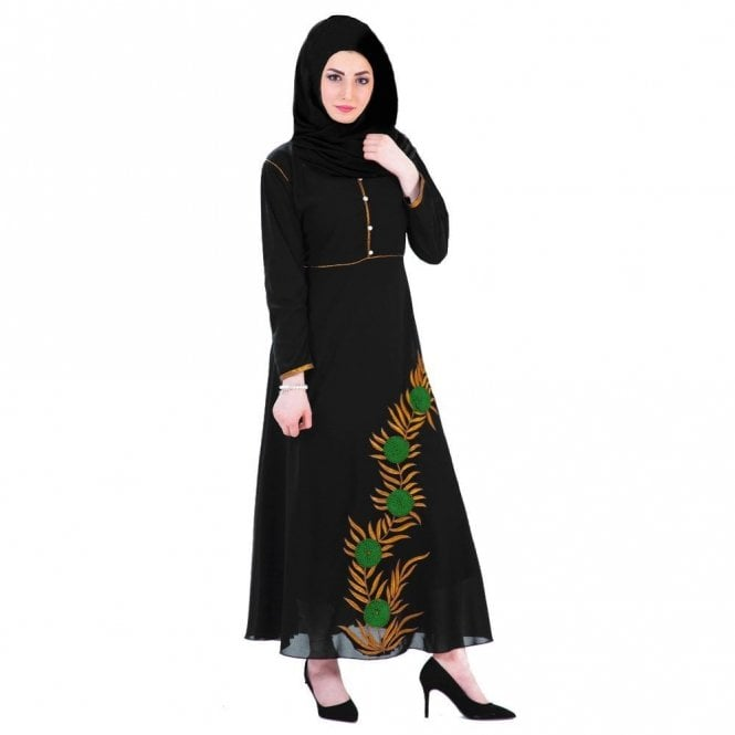 Umbrella Cut Abaya ML 31521