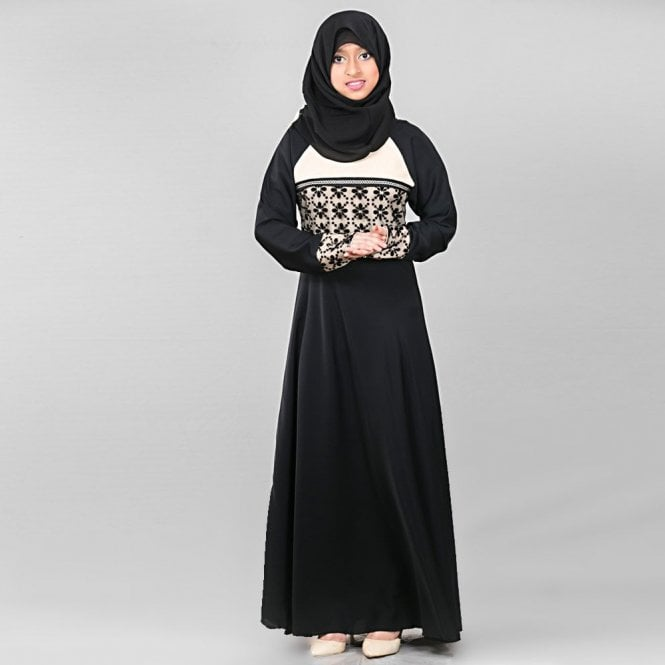 Children Abaya ML 31560