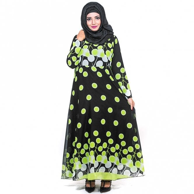 Umbrella Cut Abaya ML 31598
