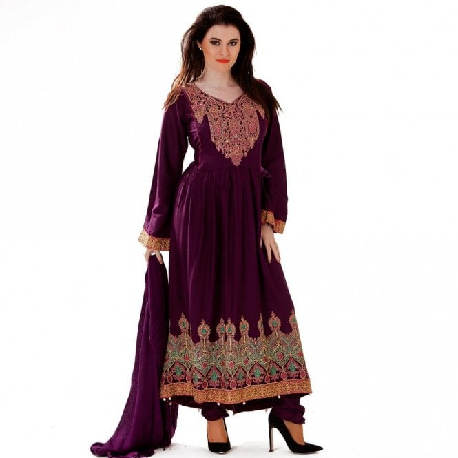 Churidar Long Dress Suit ML 12419