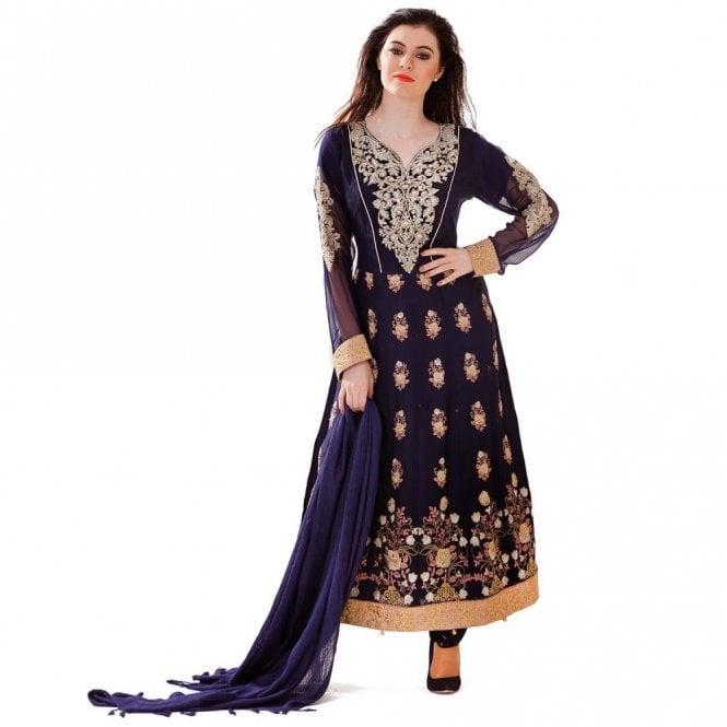 Churidar Long Dress Suit ML 12423