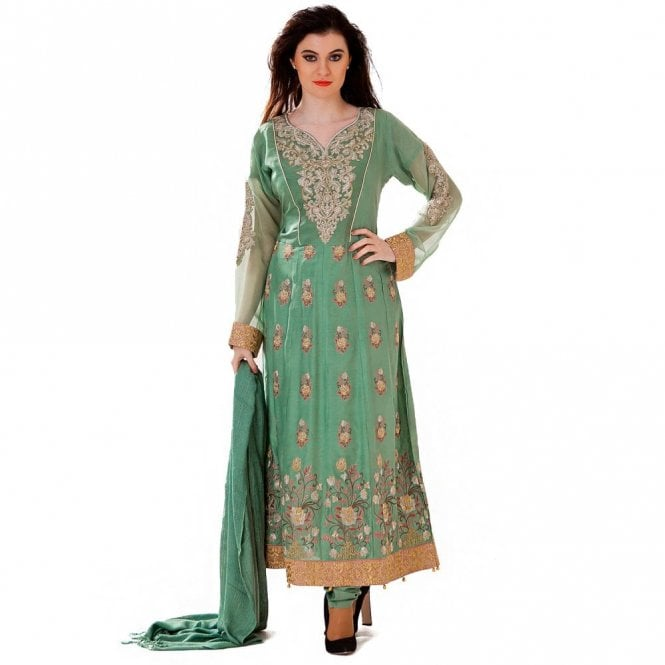 Churidar Long Dress Suit ML 12424