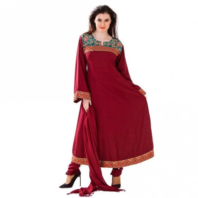 Churidar Long Dress Suit ML 12416