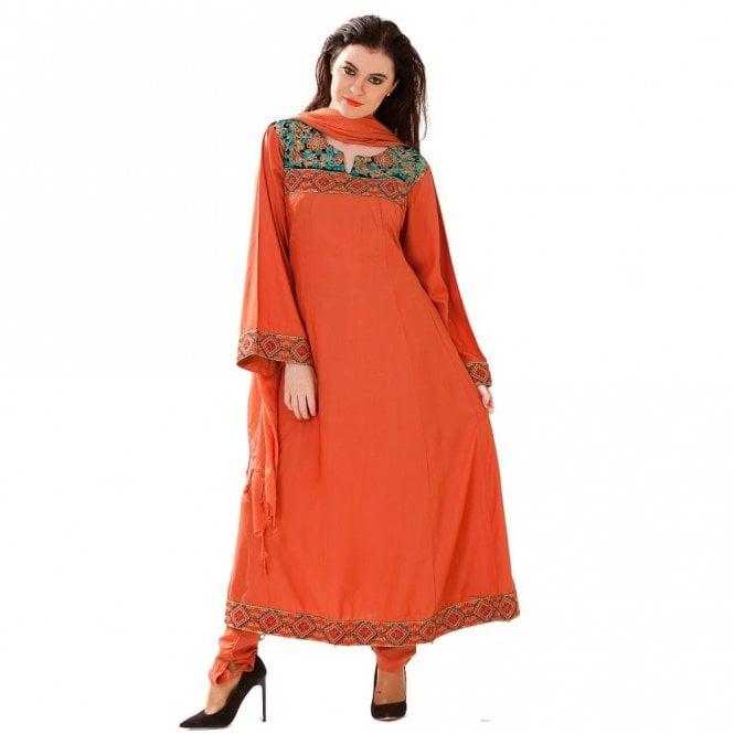Churidar Long Dress Suit ML 12418