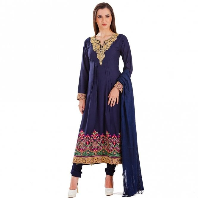 Churidar Long Dress Suit ML 12429
