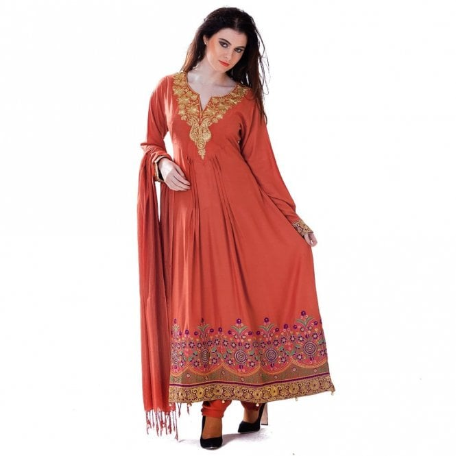 Churidar Long Dress Suit ML 12430