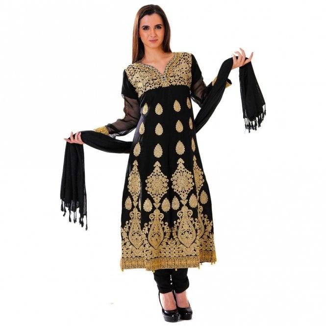 Churidar Long Dress Suit ML 12428