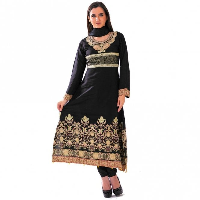 Churidar Long Dress Suit ML 12417