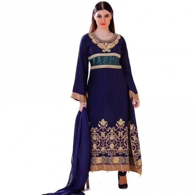 Churidar Long Dress Suit ML 12415