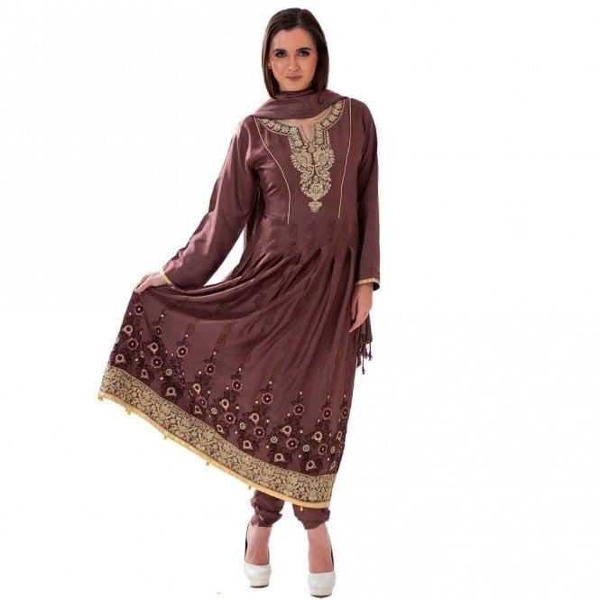 Churidar Long Dress Suit ML 12421