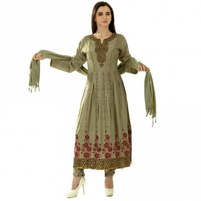 Churidar Long Dress Suit ML 12422