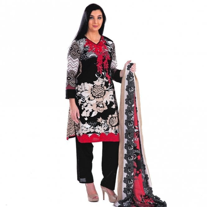 Printed Winter Khadder ML 12484