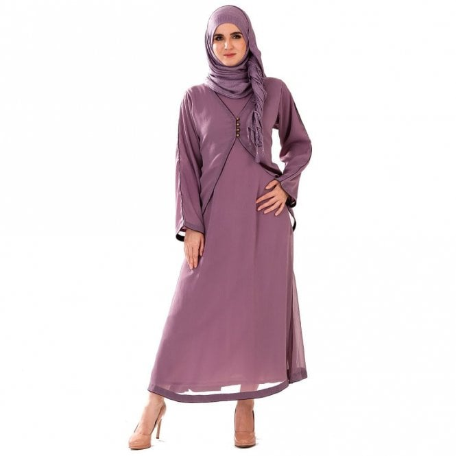 Umbrella Cut Abaya ML 31636
