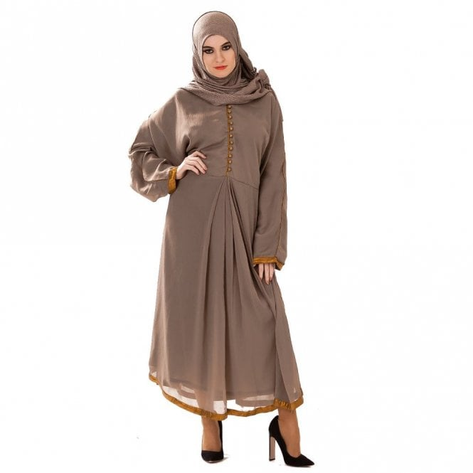 Umbrella Cut Abaya ML 31642