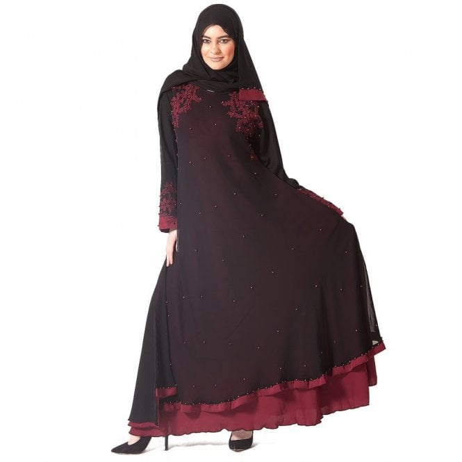 Umbrella Cut Abaya ML 31628