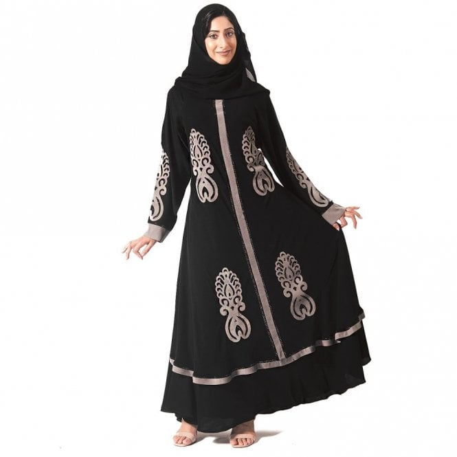 Umbrella Cut Abaya ML 31631