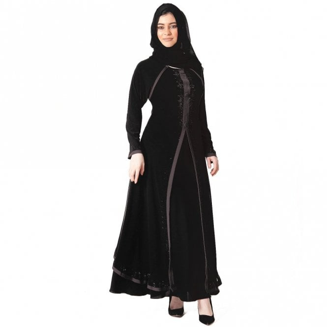 Umbrella Cut Abaya ML 31630