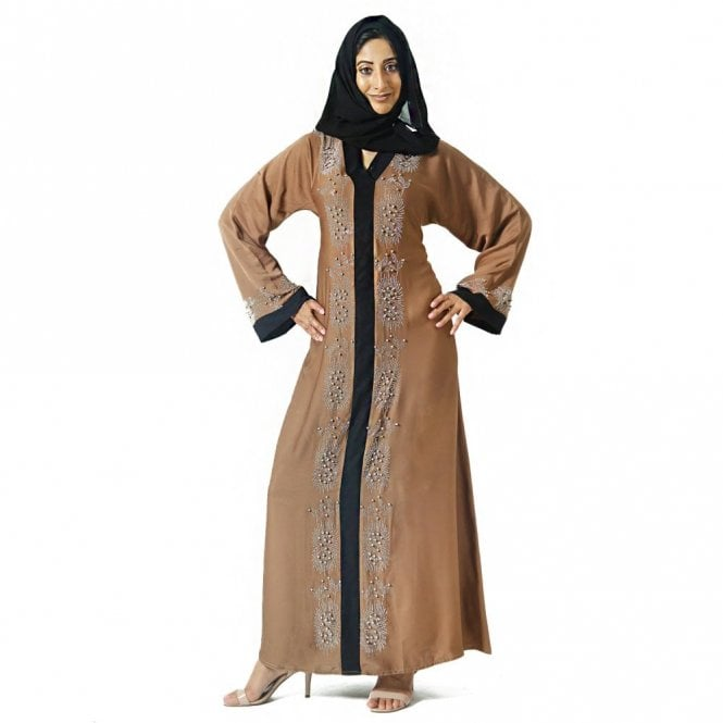 Umbrella Cut Abaya ML 31658