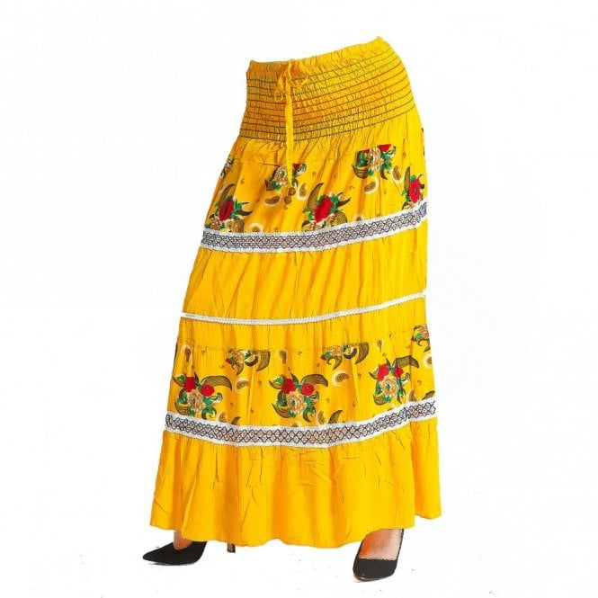 Cotton Long Skirt ML 06142