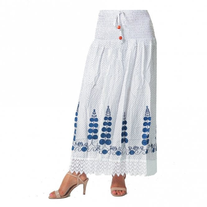 Cotton Long Skirt ML 06148