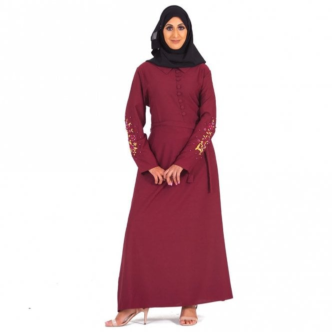 Umbrella Cut Abaya ML 31680