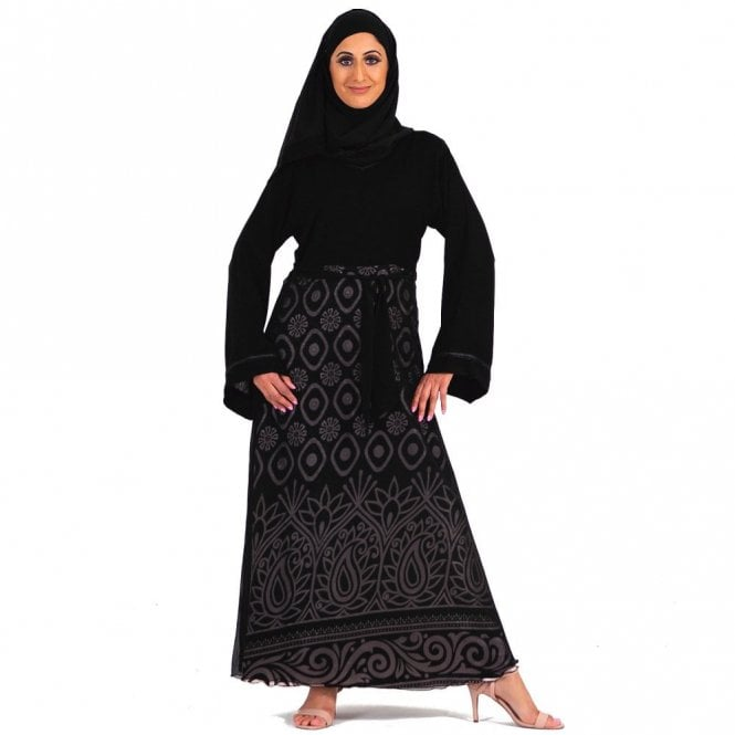 Umbrella Cut Abaya ML 31678