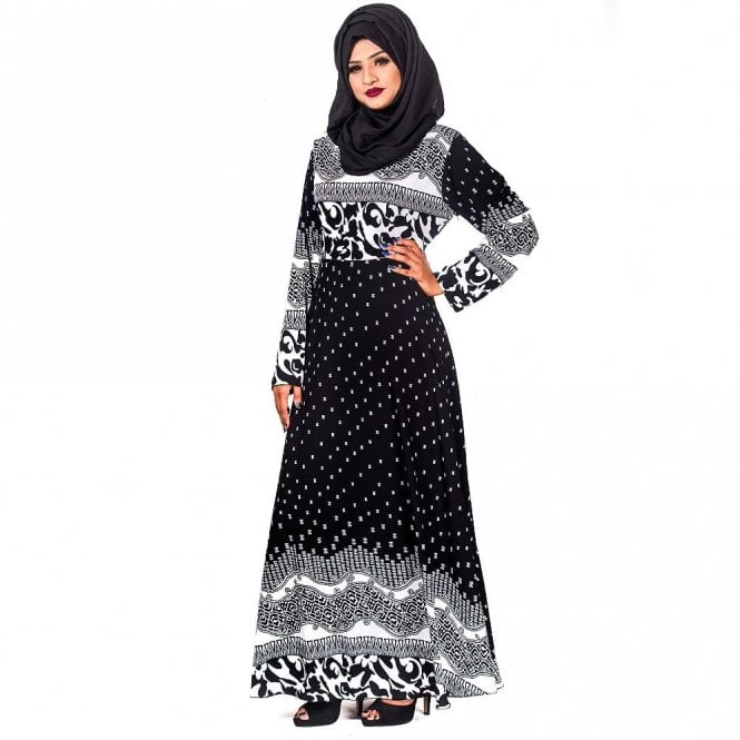 Umbrella Cut Abaya ML 31716