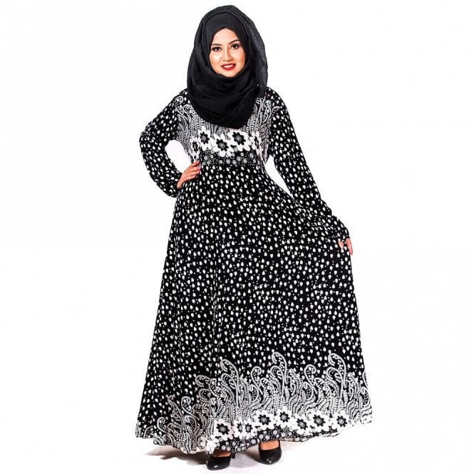 Umbrella Cut Abaya ML 31714