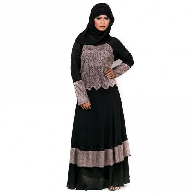 Umbrella Cut Abaya ML 31700