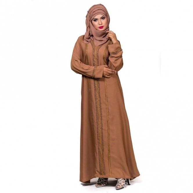 Umbrella Cut Abaya ML 31707