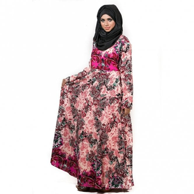Umbrella Cut Abaya ML 31739