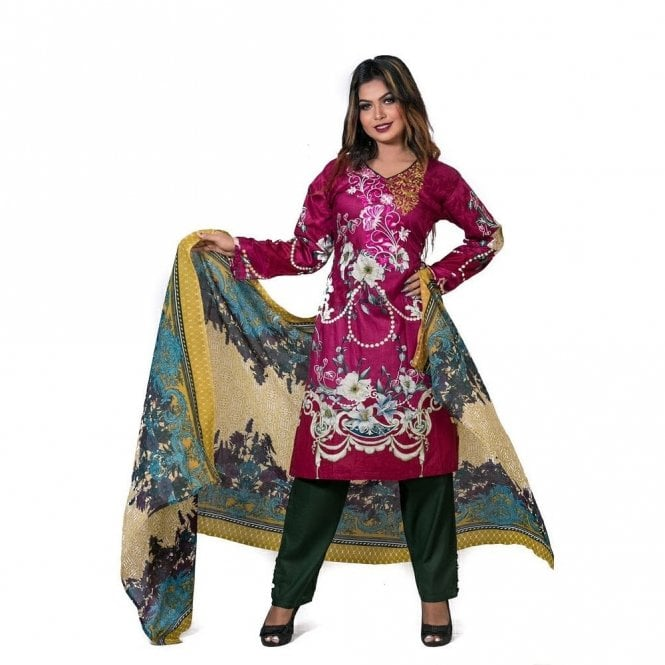 Salwar Suit ML 12540 Lawn Suit