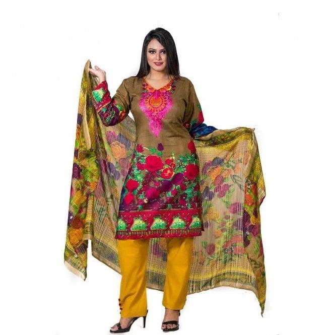 Salwar Suit ML 12545 Lawn Suit