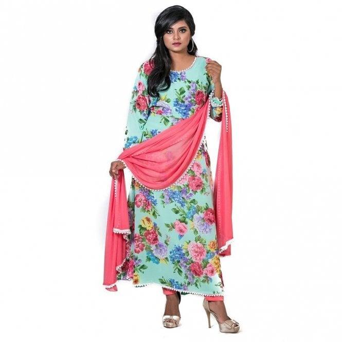 ML 12560 Churidar Long Dress Suit