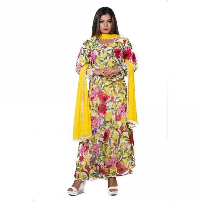 ML 12569 Churidar Long Dress Suit