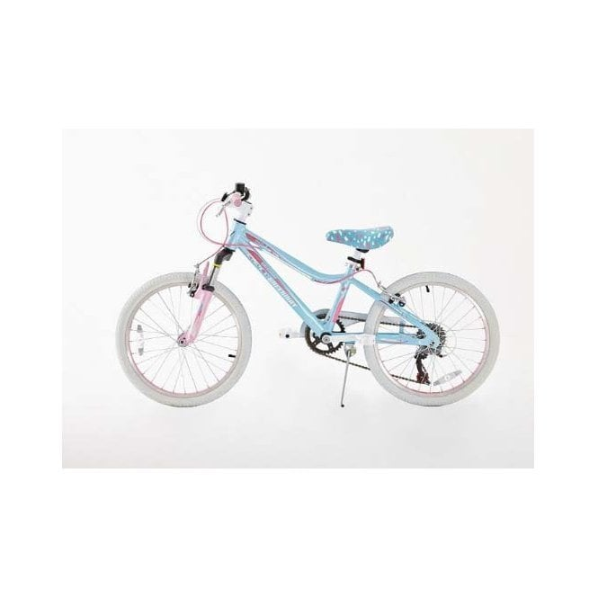 Kids Bikes KB 12:GIRLS 20 INCH ALLOY MOUNTAIN BIKE WITH SHIMANO GEARS