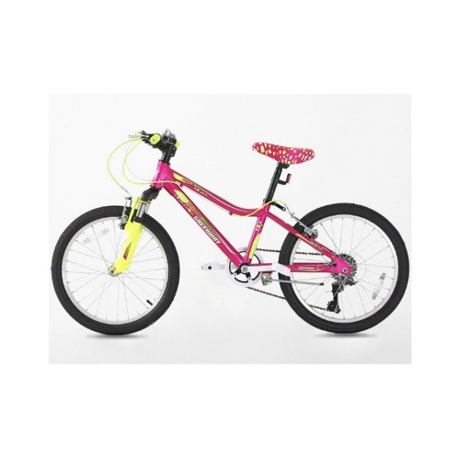 Kids Bikes KB 13:GIRLS 20 INCH ALLOY MOUNTAIN BIKE WITH WITH SHIMANO GEARS