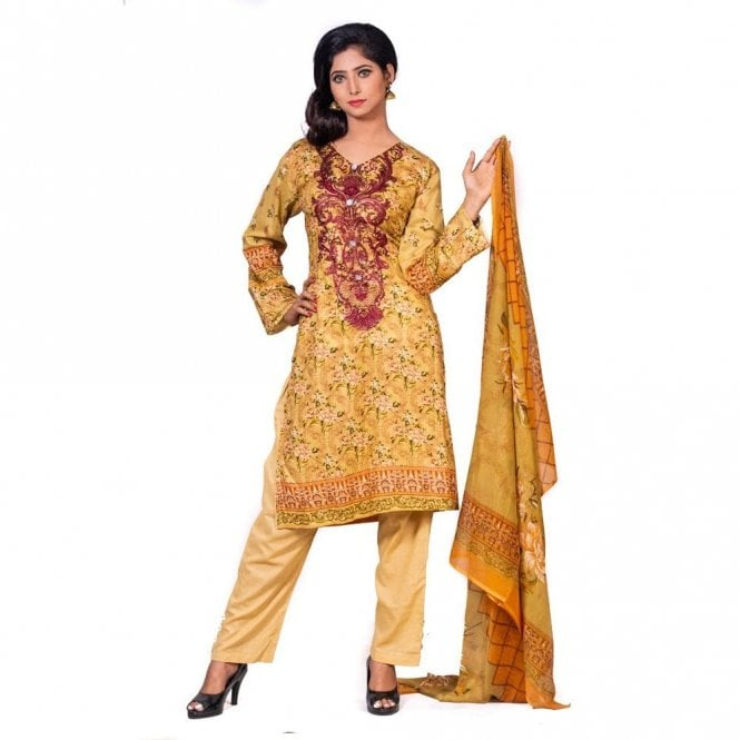 Salwar Suit ML 12586 Lawn Suit