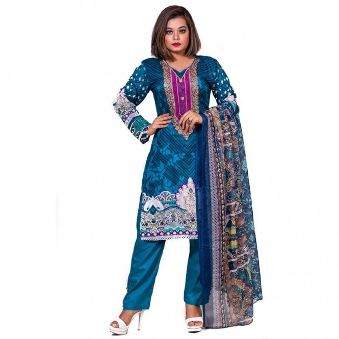 Salwar Suit ML 12588 Lawn Suit