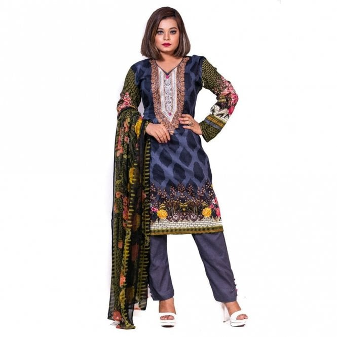 Salwar Suit ML 12589 Lawn Suit