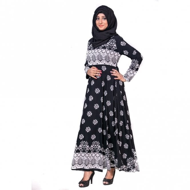 Umbrella Cut Abaya ML 31765