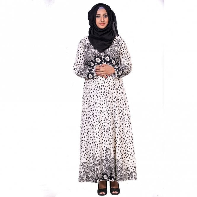 Umbrella Cut Abaya ML 31767