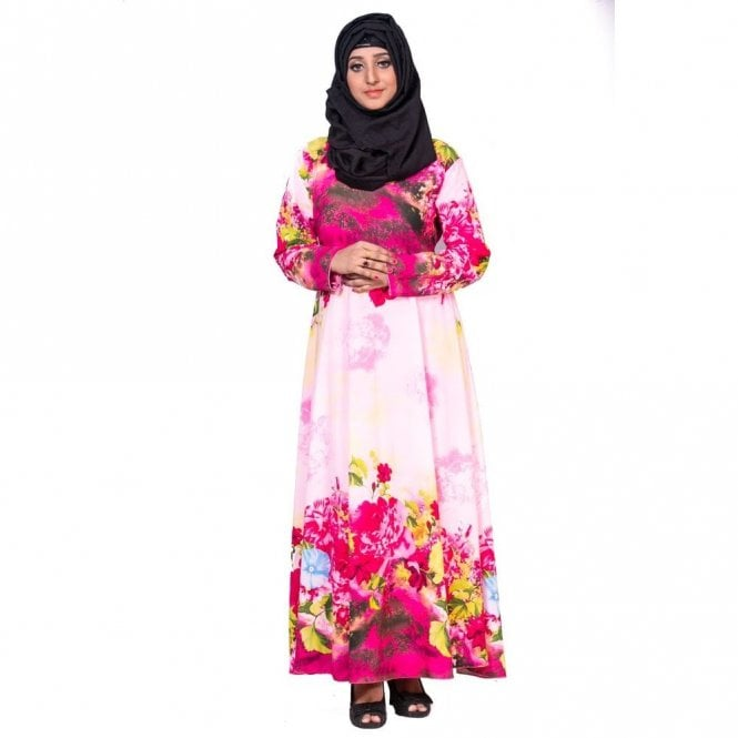 Umbrella Cut Abaya ML 31769