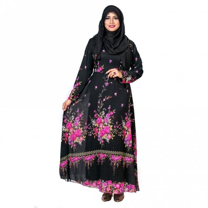 Umbrella Cut Abaya ML 31782