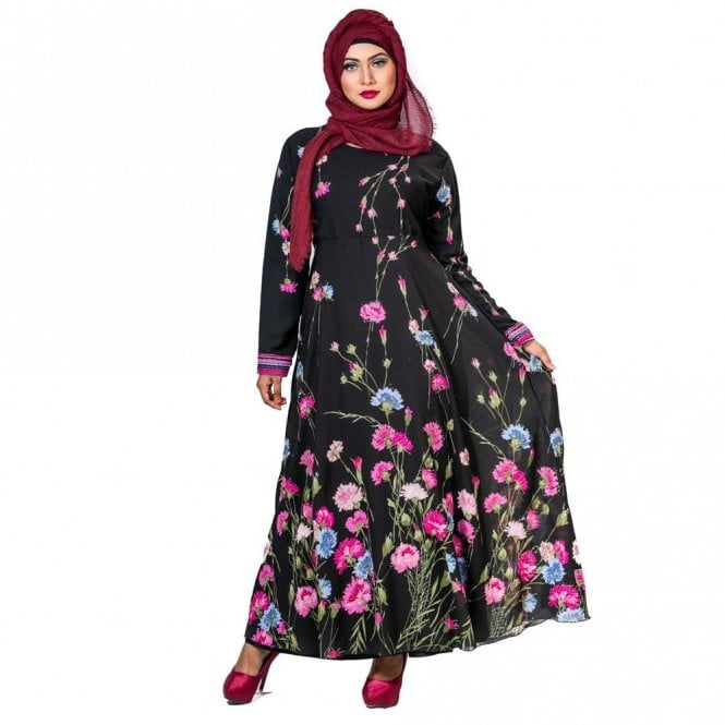 Umbrella Cut Abaya ML 31792