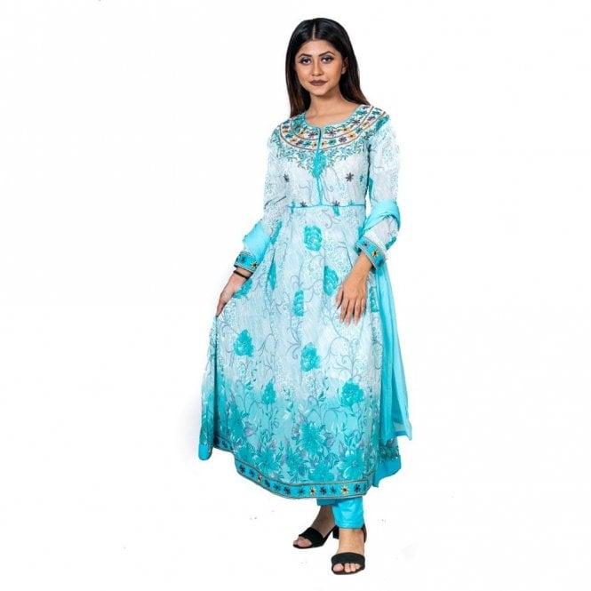 Churidar Long Dress Suit ML 12596