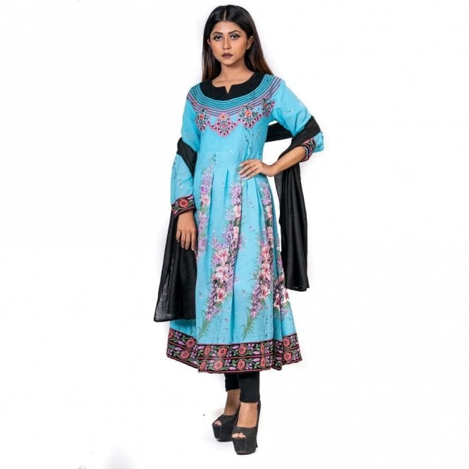 Churidar Long Dress Suit ML 12598