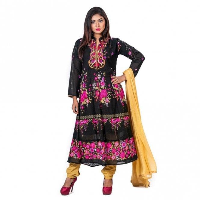 Churidar Long Dress Suit ML 12600