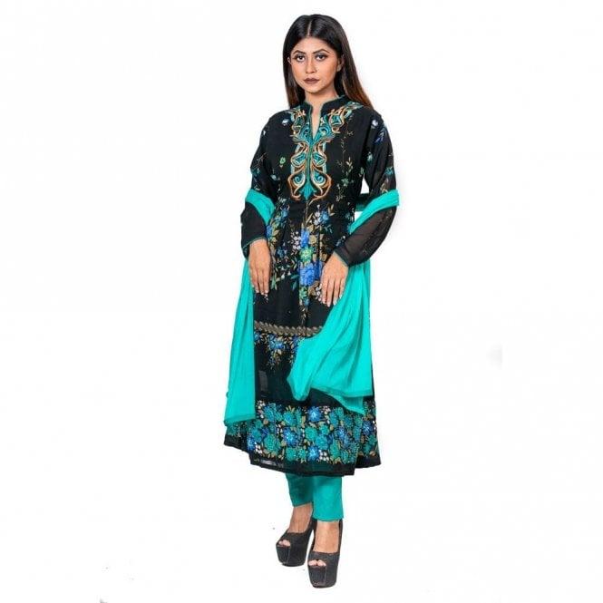 Churidar Long Dress Suit ML 12601